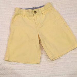 Janie and Jack Yellow Boys Shorts